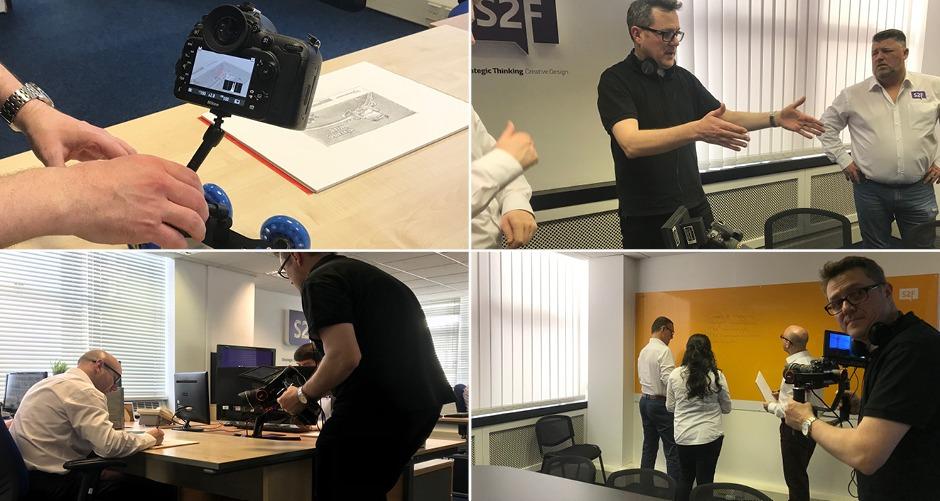 marketing round-up s2f video shoot