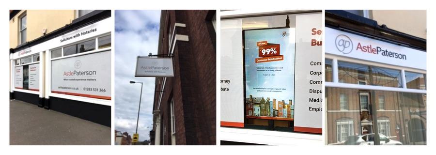 marketing round-up astle signage